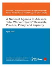 Cover of the National Total Worker Health Agenda